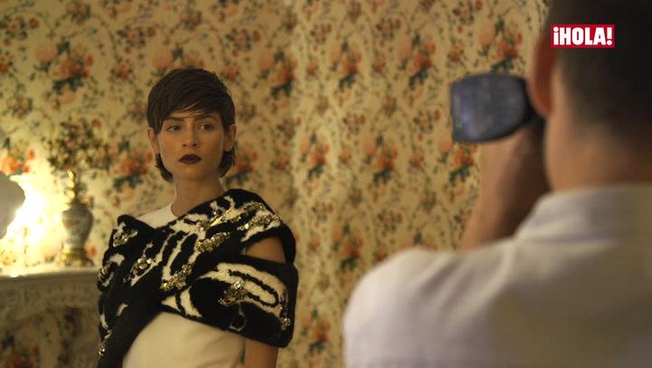 Alba Galocha y el \'glamour\' de la Alta Costura de Dior