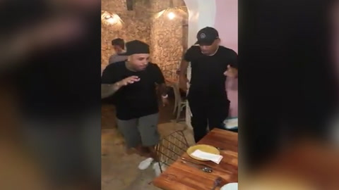 Nicky Jam baila junto a Will Smith en Cartagena