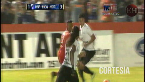 Motagua anota su tercer tanto ante Honduras Progreso 3-1 el marcador