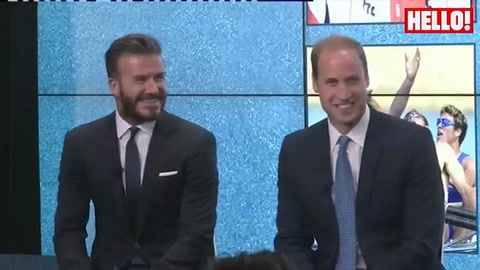 David Beckham gives baby advice to Prince William and Kate