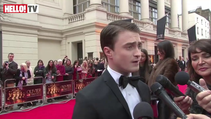 Daniel Radcliffe and West End stars gather at the Olivier Awards