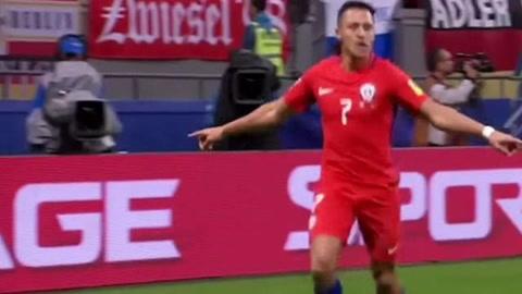 Alexis Sánchez se convierte en máximo goleador de Chile
