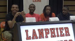 Lanphier Spring Signing