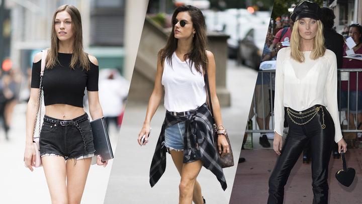 Los 10 \'tops\' favoritos de las supermodelos para este verano