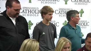Catholic's Emma Skornia signs with MSU Soccer