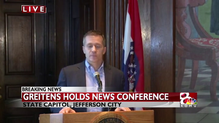 Greitens criticizes investigative report on scandal