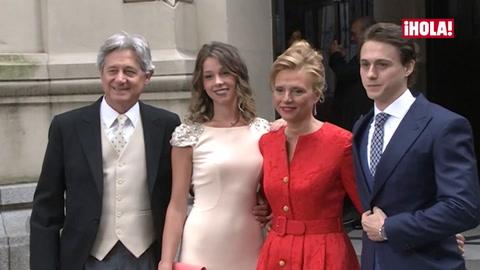 Josema Yuste, \'muy feliz\' en la boda de su hijo y... ¿con ganas de nietos?
