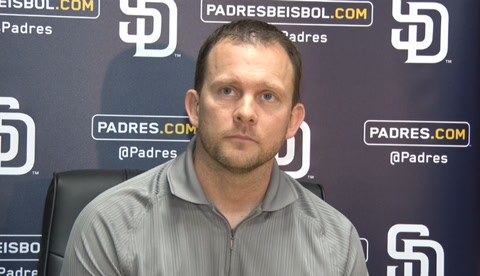 Andy Green on Chargers move, Yangervis Solarte's extension