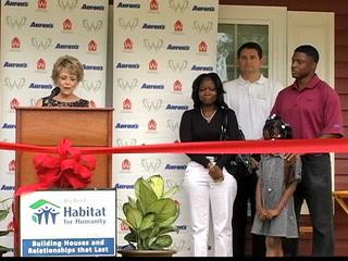 Habitat home presentation