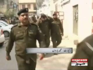 نواز شریف پر جوتا پھینکنے کے تینوں ملزمان جیل بھجوادیے گئے