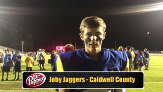 Joby Jaggers on Caldwell Win Over Henderson