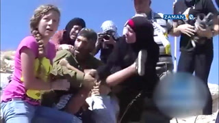 Filistinli annenin cansiperane direnişi