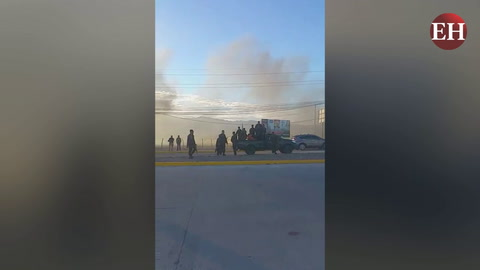 Militares disparan contra vehículo de periodistas en Choluteca