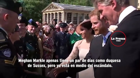 Filtran video de Meghan Markle en topless