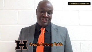 Babb on Lady Tigers' District Loss