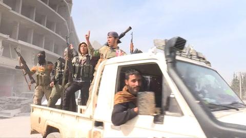 Las fuerzas turcas y sus aliados toman la ciudad siria de Afrin