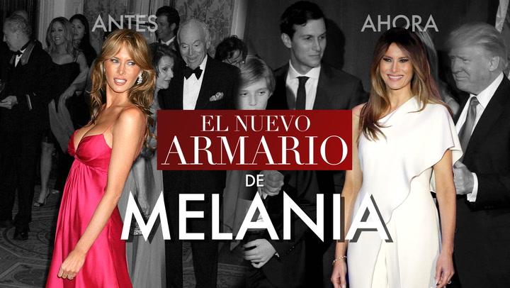En vídeo: La evolución del estilo de Melania Trump