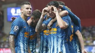 El Atlético de Madrid logró una importante victoria en casa del Mónaco