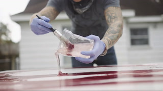 Artist Reece Carnley Puts Blood — Literally — Into His Work