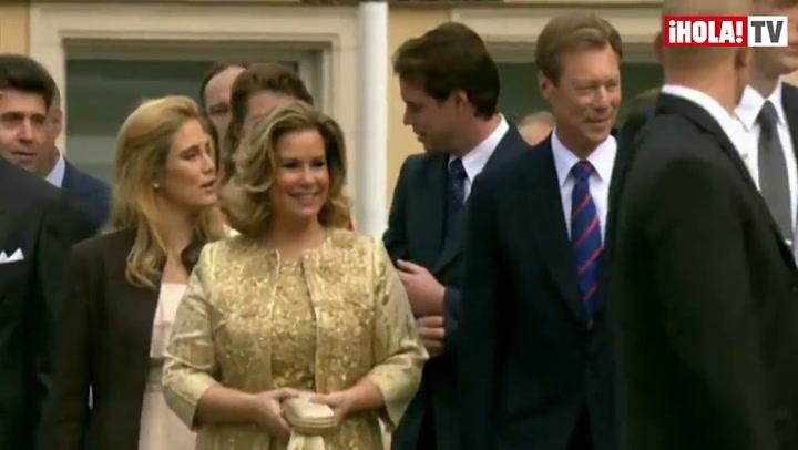 Así fue la ceremonia civil de los Príncipes de Luxemburgo