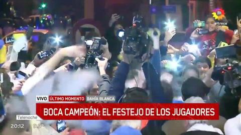 Boca Juniors se corona campeón del fútbol argentino