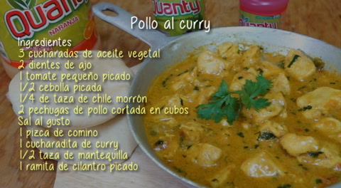Cocinando con Mayte: Pollo al curry