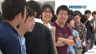 Japon öğrencilerden Türk yetimlere 'origami' dersi