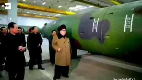 Kim Jong-un encarga la producción de más motores de cohetes y cabezas de misiles