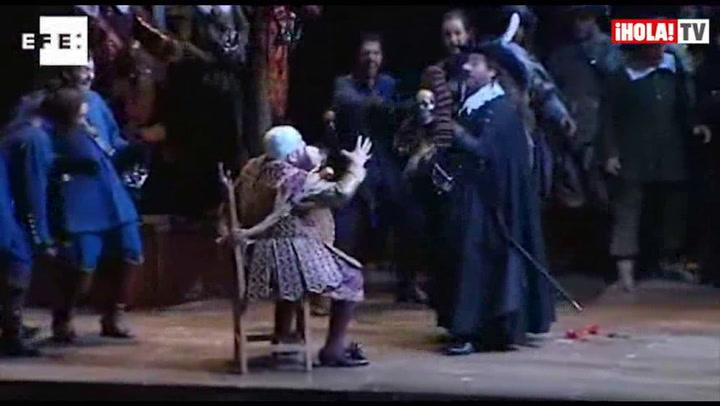 Plácido Domingo se convierte en Cyrano de Bergerac