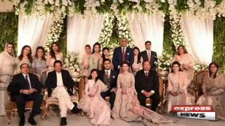 راولپنڈی : آرمی چیف کے صاحبزادے سعد صدیق باجوہ کی تقریب ولیمہ
