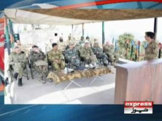 مختلف ممالک کے دفاعی اتاشیوں کا لائن آف کنٹرول کا دورہ، آئی ایس پی آر