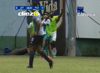 ¡GOOL DE JUTICALPA! Marlon Ramírez anota el 4-1 ante Platense