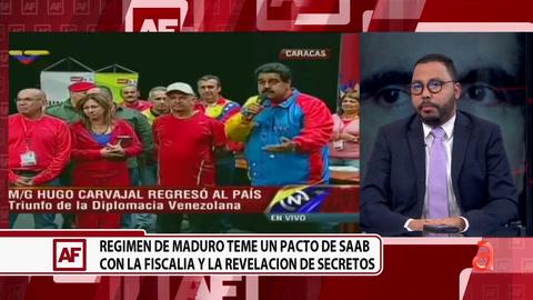 Régimen de Maduro teme un pacto de Saab con la fiscalía y revelación de secretos
