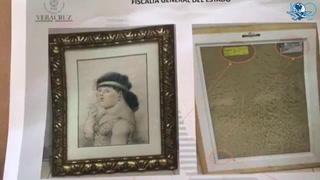 Decomisan obras de arte en inmueble de Javier Duarte