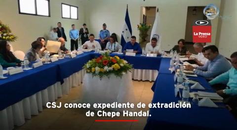 CSJ conoce expediente de extradición de Chepe Handal