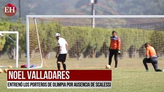Noel Valladares regresó a los entrenamientos del Olimpia
