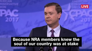 Chris Cox, executive director of NRA, highlights importance of Trump's Supreme Court pick at CPAC
