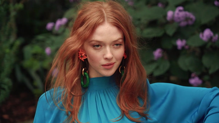 Larsen Thompson on her HELLO! FASHION cover shoot