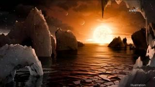 Sistema estelar de siete planetas podría acoger vida