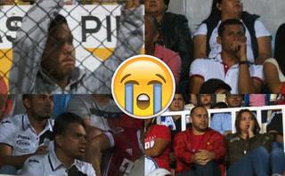 Tristeza total: las caras largas de los hinchas merengues en el Olimpia-Marathón