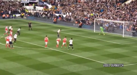 Tottenham 2-0 Arsenal (Premiere League)