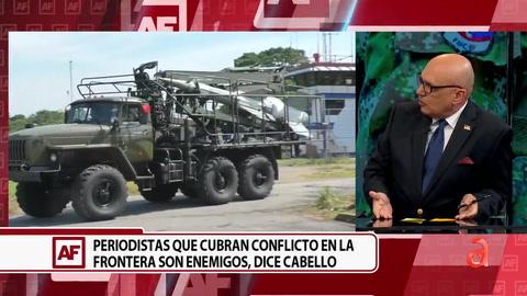 Diosdado Cabello amenaza con Guerra en Colombia por conflictos en frontera