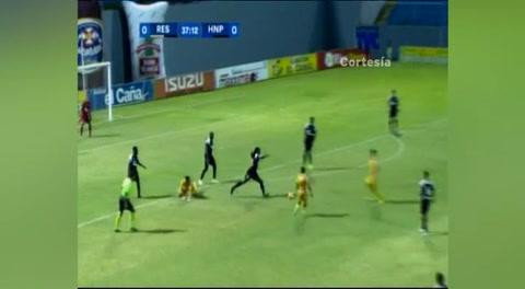 Gol Ángel Tejeda de al Honduras Progreso (Liga Nacional 2017)