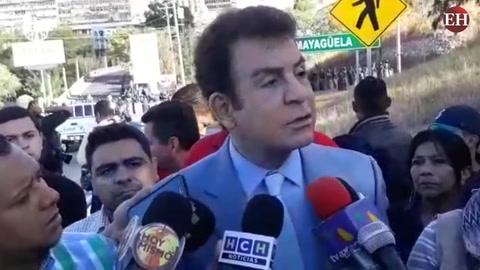 Nasralla menciona nombres de supuestos diputados traidores