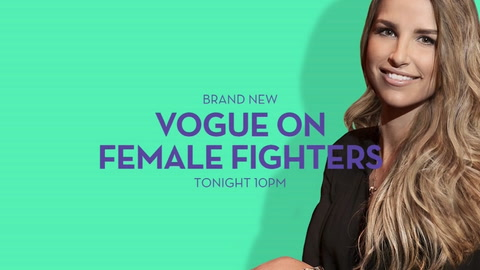 Vogue on female fighters