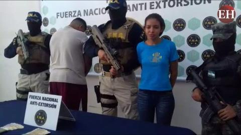 Tegucigalpa: FNA y PMOP capturan a presuntos extorsionadores