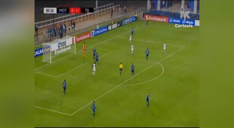 El tapadón de Jonathan Rougier (Liga Concacaf 2018)