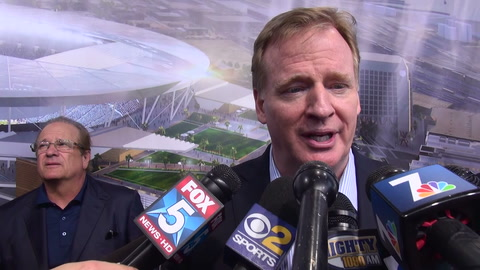 Roger Goodell & Dean Spanos on Chargers stadium, optimism & the Mayor