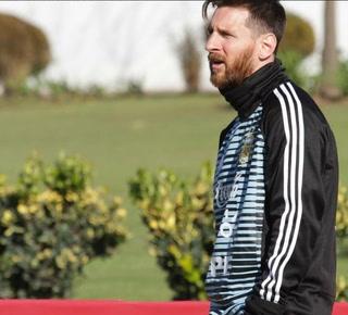 Lionel Messi ya se encuentra con la selección de Argentina para preparar el Mundial de Rusia 2018