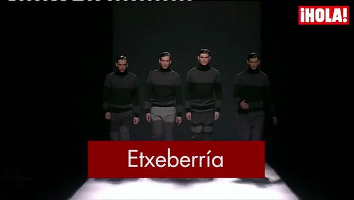 Fashion Week Madrid otoño-Invierno 2015-2016: Etxeberría